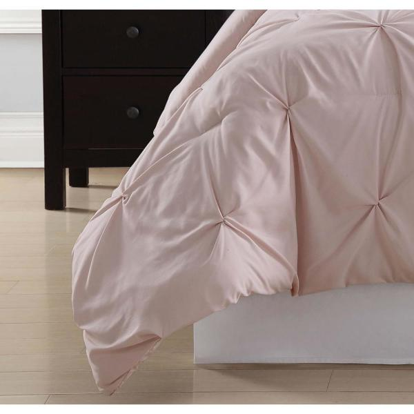 blush home decor.htm truly soft everyday 2 piece blush twin xl comforter set cs1969bstx  piece blush twin xl comforter set