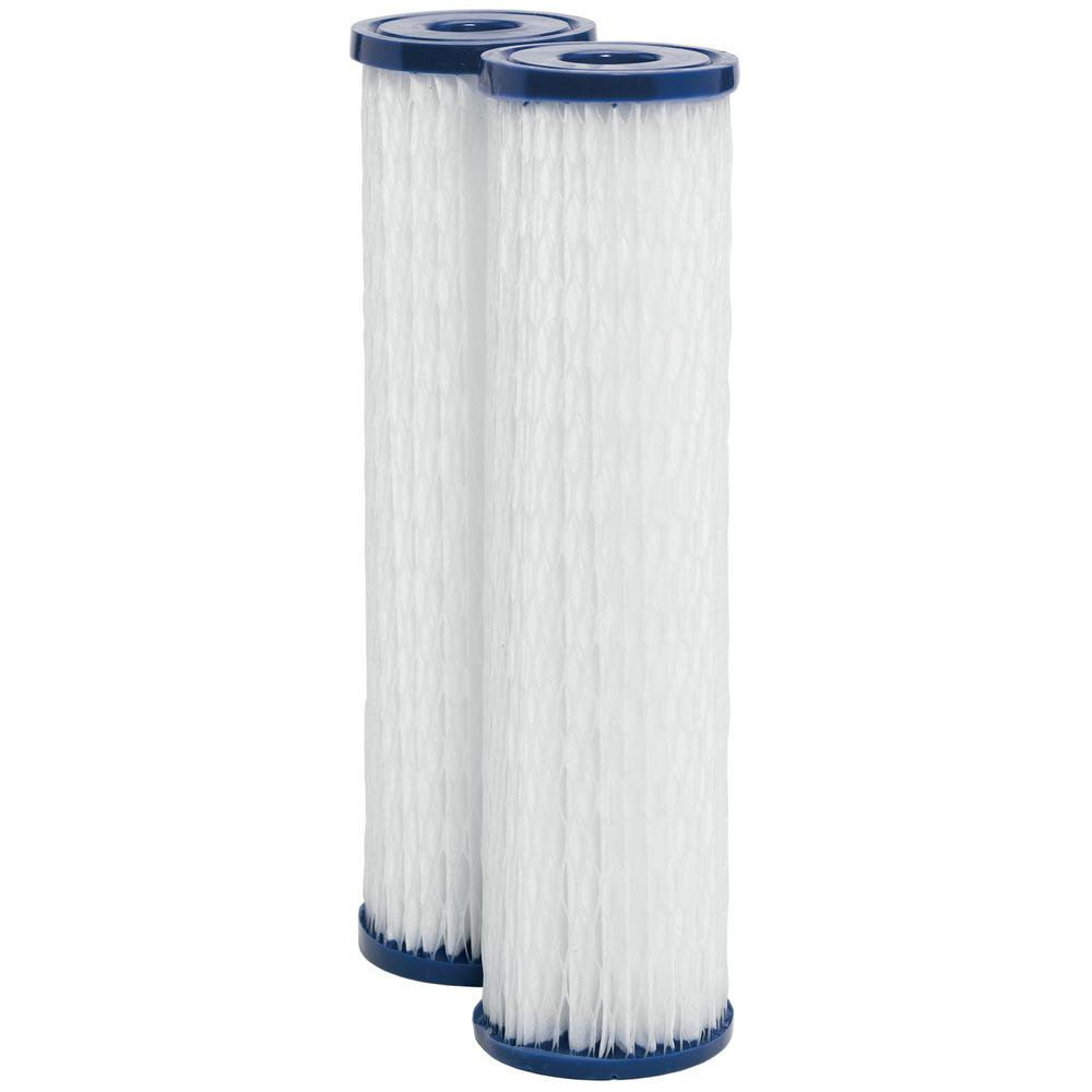 Universal Whole House Replacement Water Filter Cartridge (2-Pack)