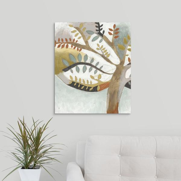 GreatBigCanvas 20 in. x 24 in. ''Arbor Whimsy I'' by June
