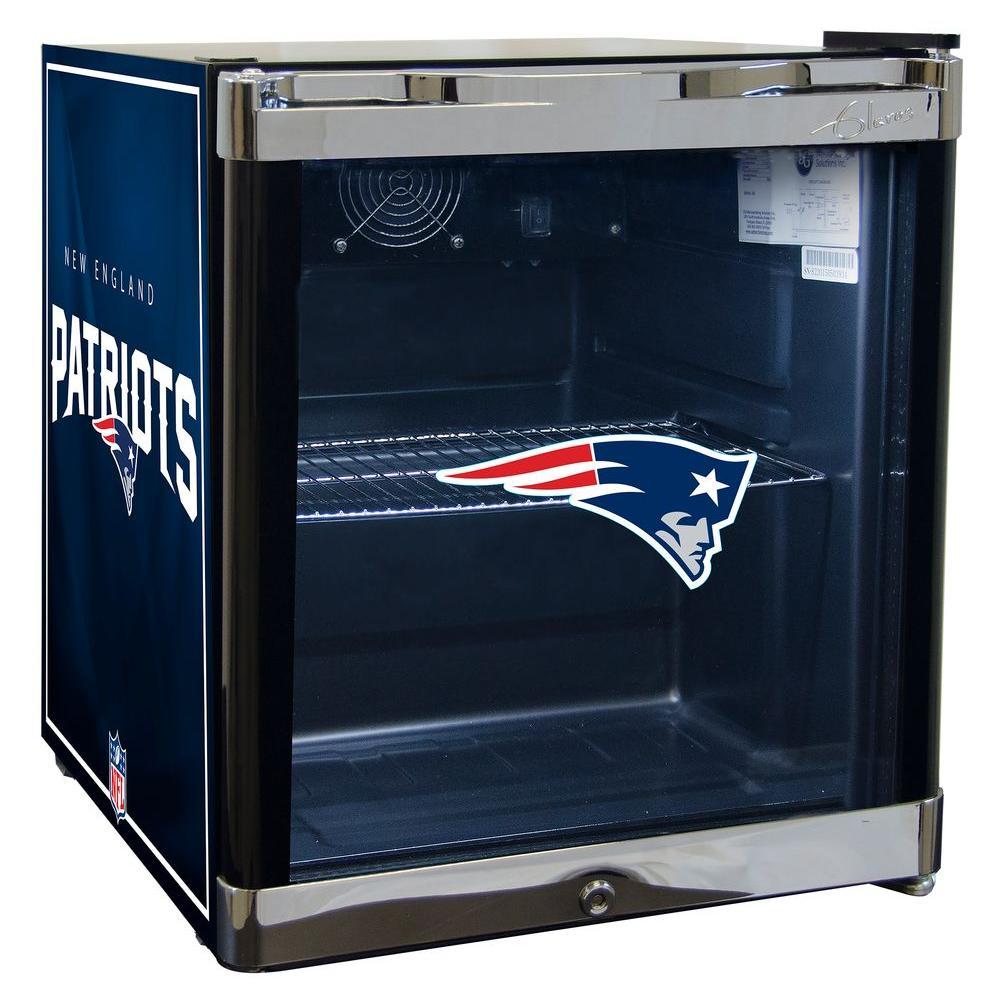 GLAROS 17 in. 20 (12 oz.) Can New England Patriots Beverage Center