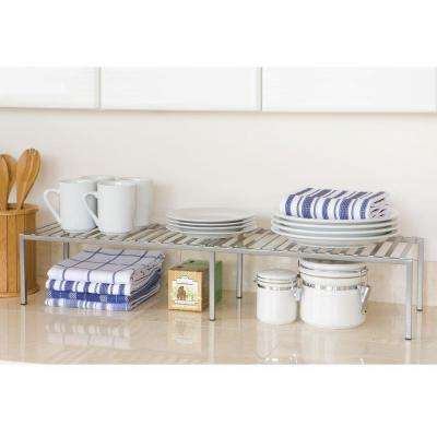 15.75 in. x 9.4 in. x 5.7 in. Expandable Kitchen Counter and Cabinet Shelf