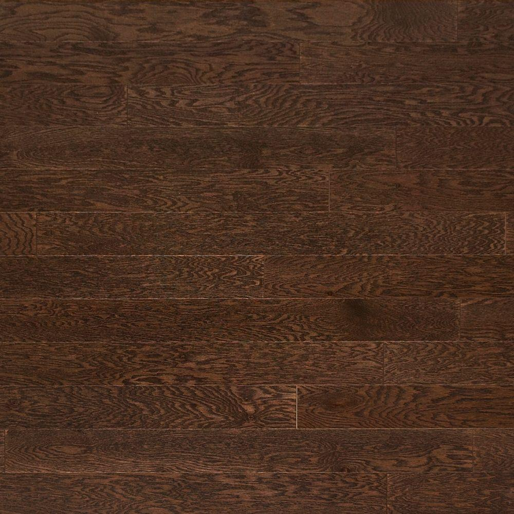Prefinished Taun Solid Hardwood Flooring 5 8 X 4 3 4: Nuvelle French Oak Nougat 5/8 In. Thick X 4-3/4 In. Wide X