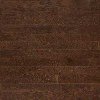 Oak Heather Gray 3/8 in. Thick x 4-3/4 in. Wide x Random Length Engineered Click Hardwood Flooring (33 sq. ft. / case)
