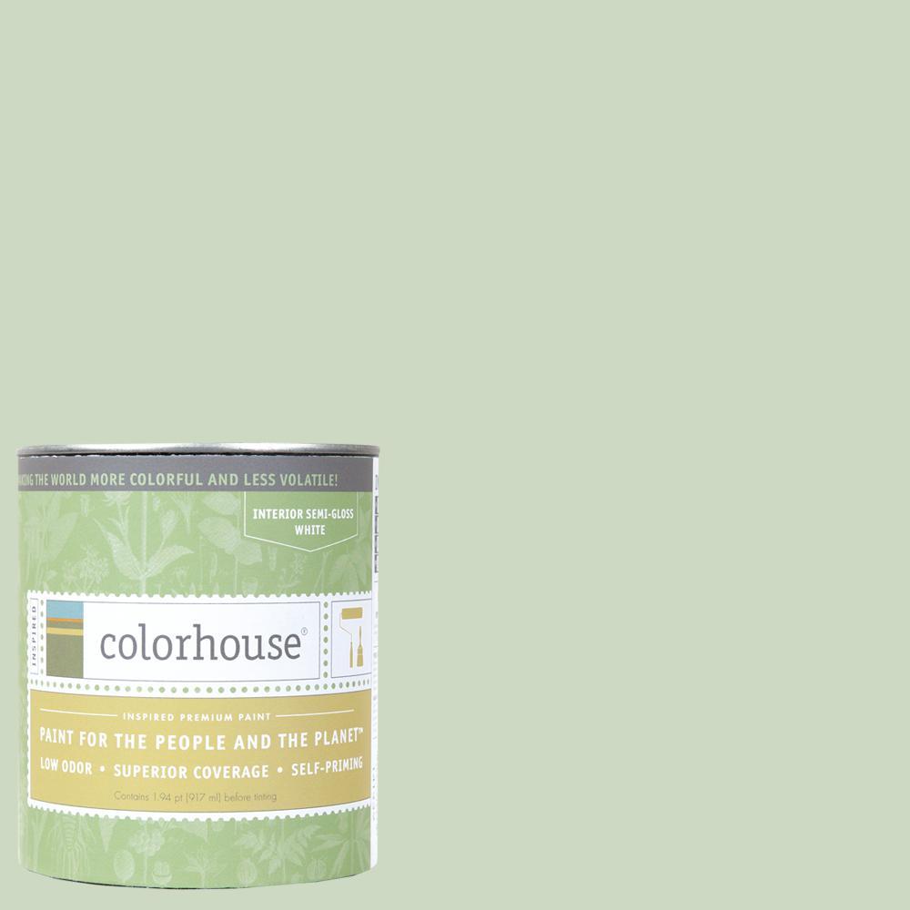 1 qt. Leaf .06 Semi-Gloss Interior Paint
