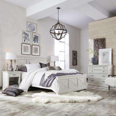 white coastal furniture. Seaside Lodge Hand Rubbed White Queen Panel Bed Coastal Furniture N