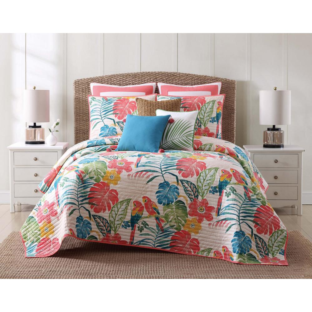 Oceanfront Resort Coco Paradise King Quilt Set Qs1964kg