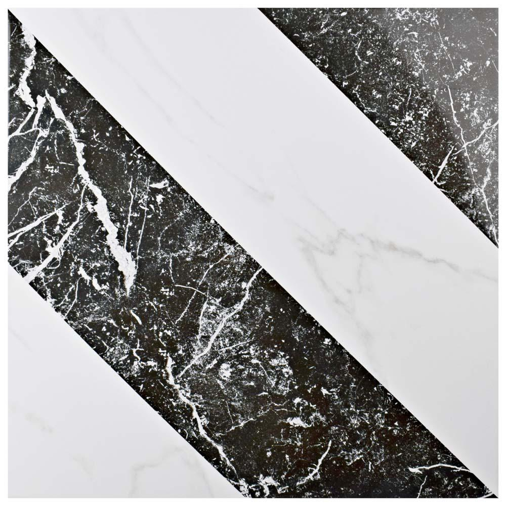 Elegance Luxe 17-3/4 in. x 17-3/4 in. Porcelain Floor and Wall