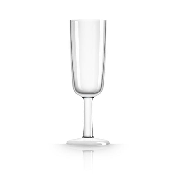 Marc Newson 6 oz. Champagne Flute Tritan with White Non-Slip Base