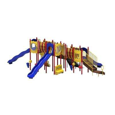 Uplay Today Sky Playful Commercial Playset With Ground Spike