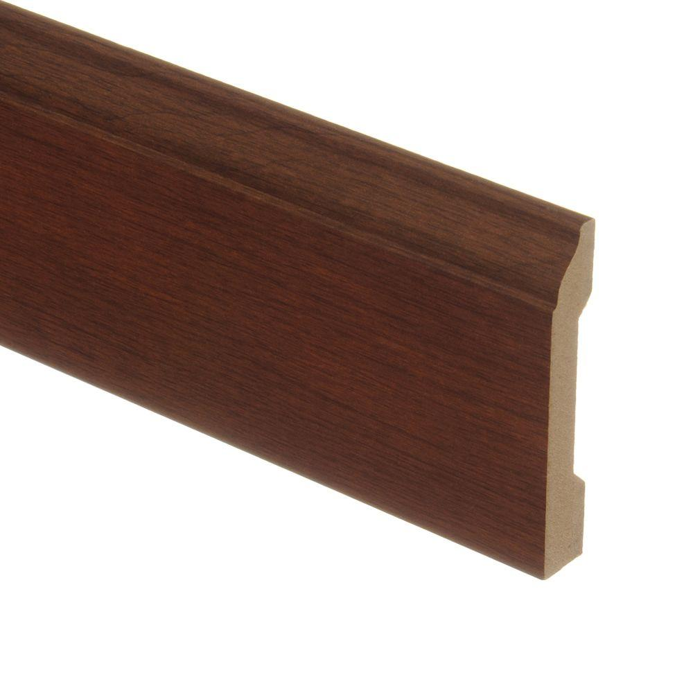 Zamma Blackened Maple 9/16 in. Thick x 3-1/4 in. Wide x 94 in. Length Laminate Wall Base Molding