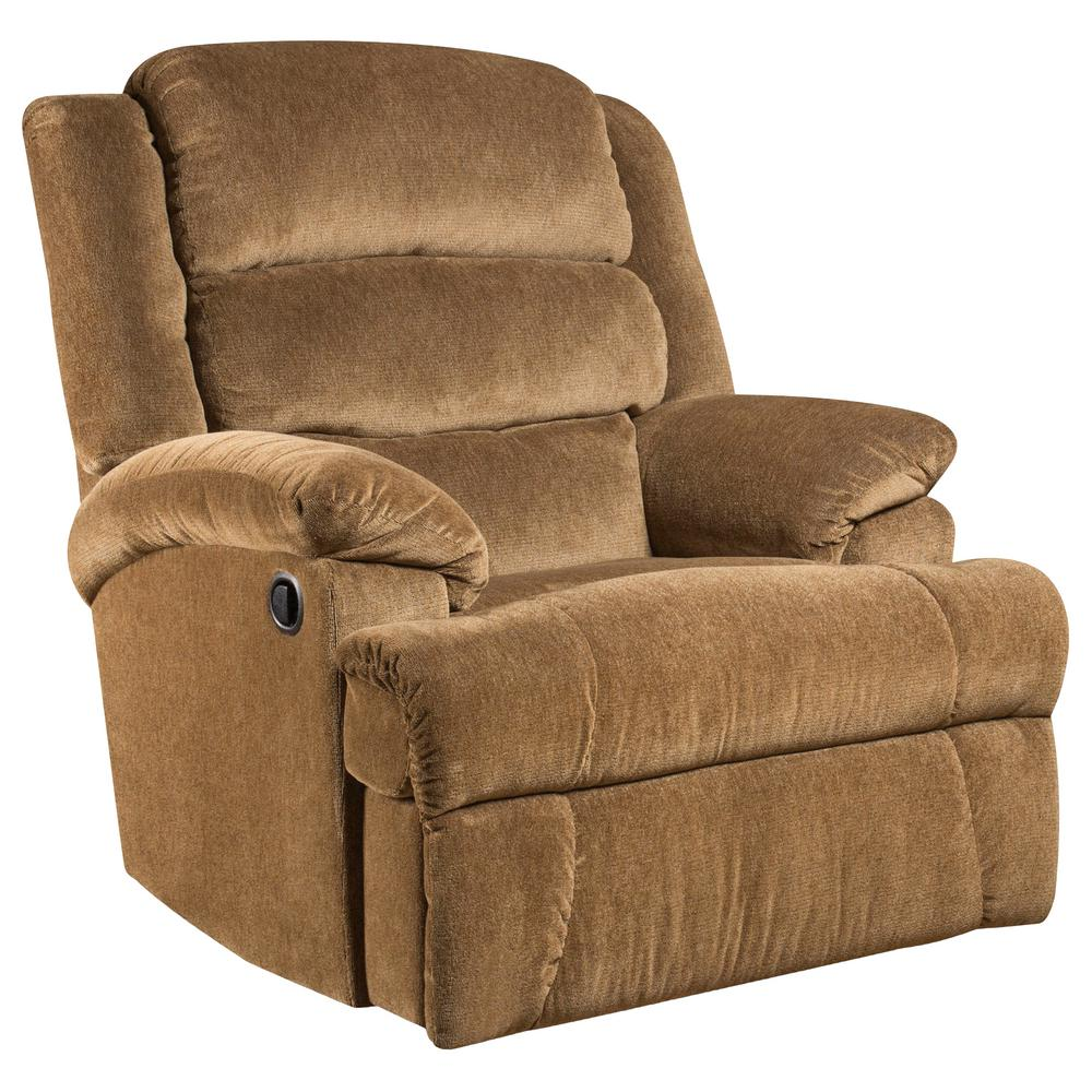 Etonnant Flash Furniture Big And Tall 350 Lb. Capacity Aynsley Amber Microfiber  Recliner