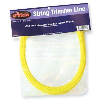 18 in. x 0.155 in. Replacement Lines for Walk-Behind Wheeled Trimmers (6-Pack)