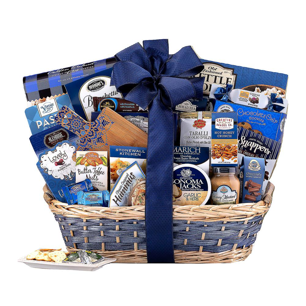 sc 1 st  The Home Depot & Wine Country Gift Baskets Crowd Pleaser Gift Basket-246 - The Home Depot