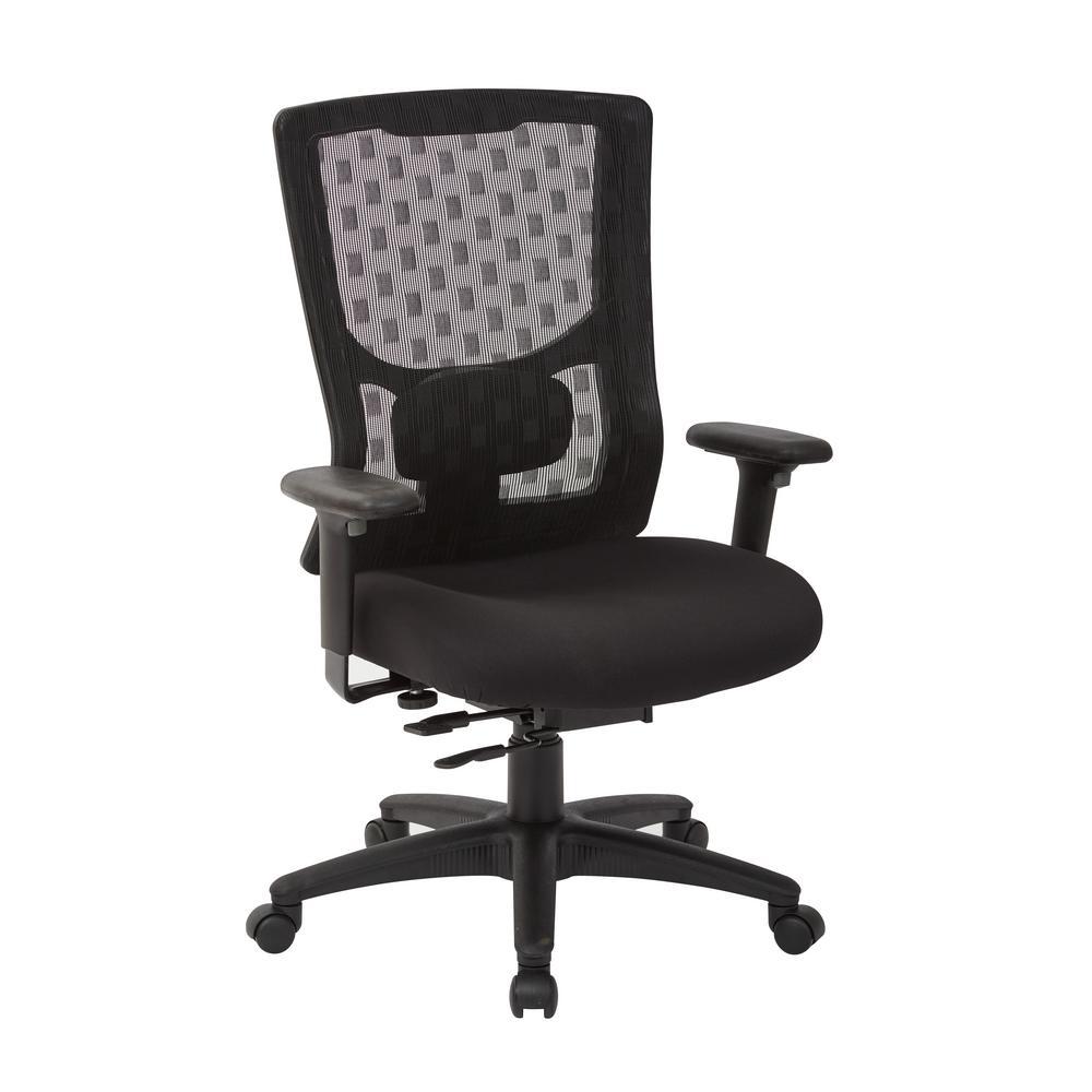 ProGrid Checkered Mesh Back Chair