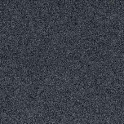 Peel and Stick Grizzly Grass Slate Grey 24 in. x 24 in. Artificial Turf Carpet Tiles(15 Tiles / Case)