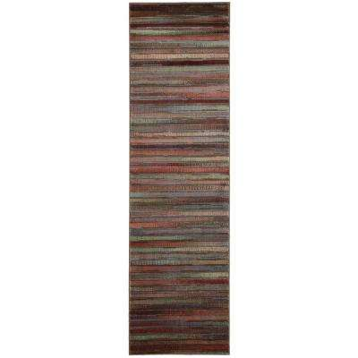 Expressions Multicolor 2 ft. x 8 ft. Runner Rug