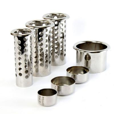 """Premimum Ventilated Tube and Cap Set - Stainless Steel (1-3"""", 2-2"""", 1-1.5"""")"""