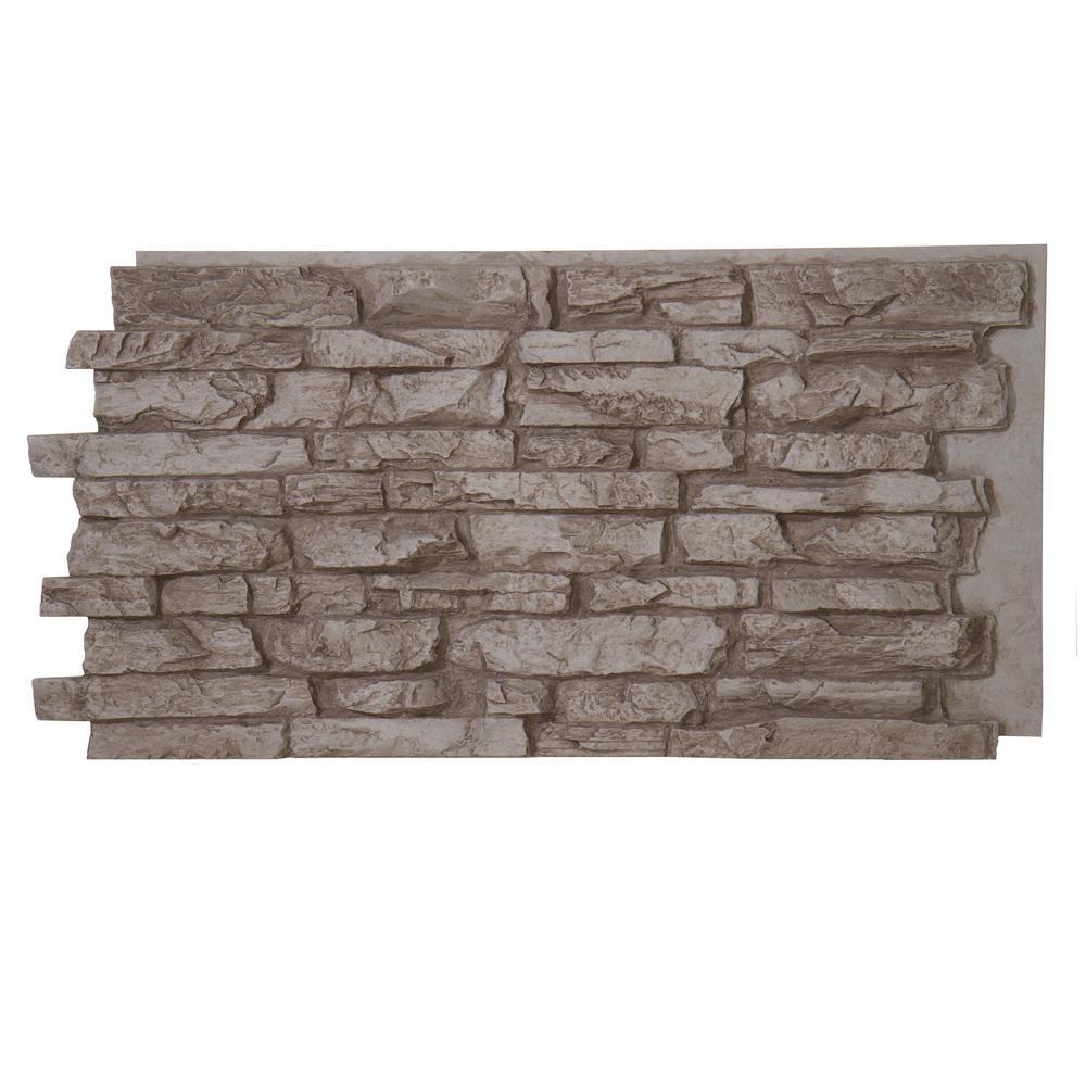 Superior Building Supplies Faux Stone Installation