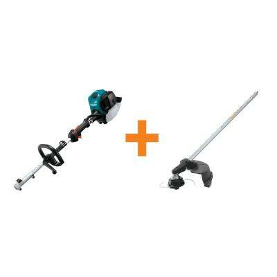 25.4 cc MM4 4-Stroke Couple Shaft Power Head and Brush Cutter Couple Shaft Attachment
