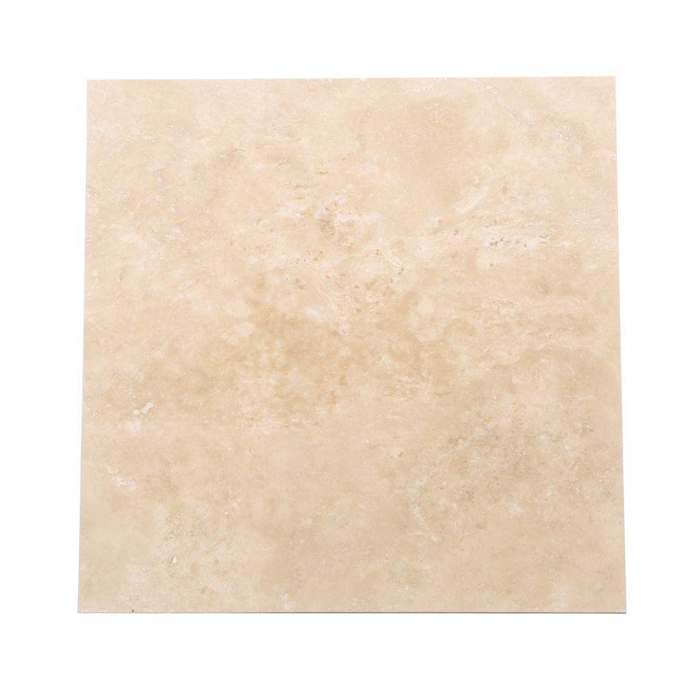 Daltile Travertine Durango 16 In X 16 In Natural Stone
