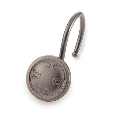 Touch Up Shower Hooks in Oil Rubbed Bronze
