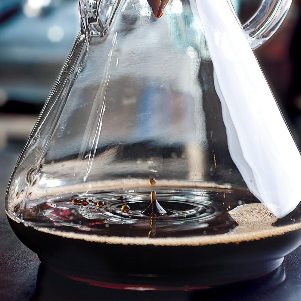 Chemex 10-Cup Glass Handle Coffee Maker