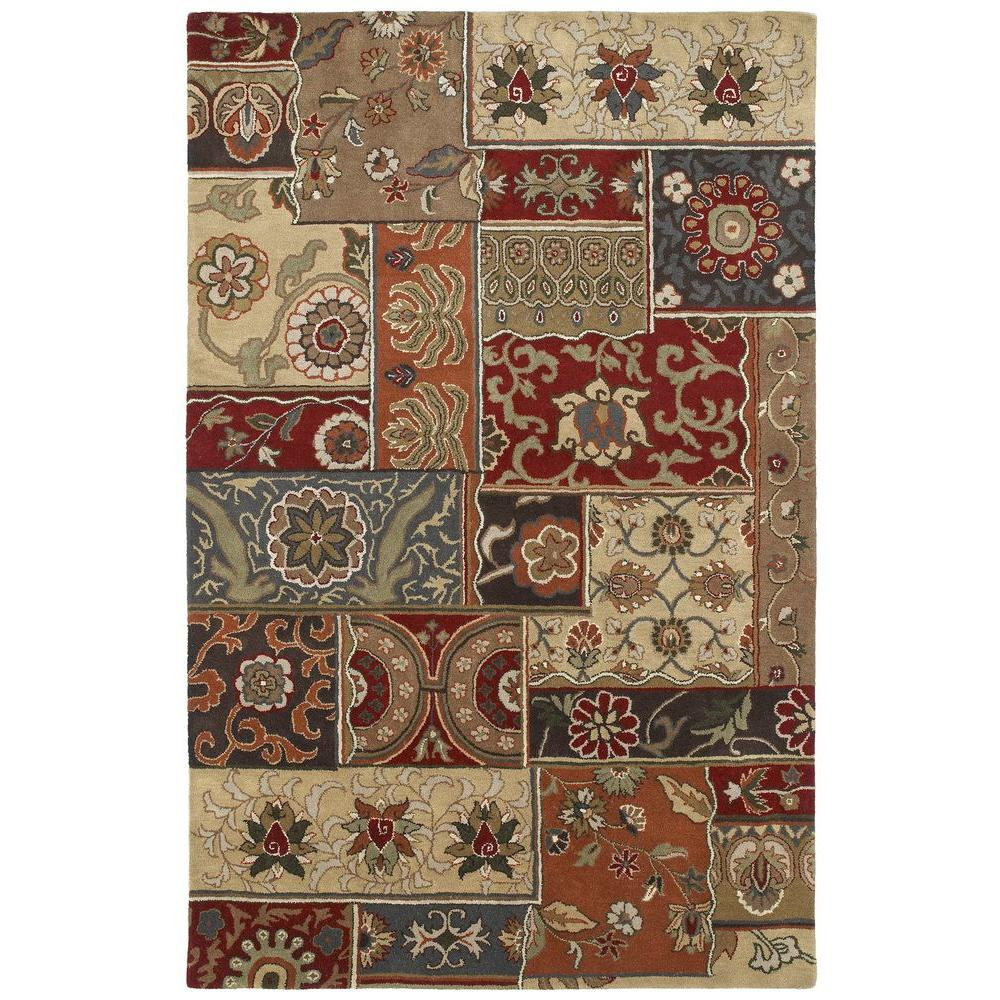 Kaleen Mystic Aral Charcoal 9 ft. 6 in. x 13 ft. Area Rug