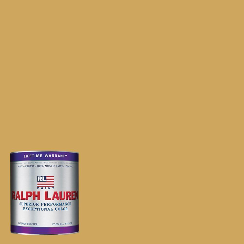 Ralph Lauren 1-qt. Queen Yellow Eggshell Interior Paint
