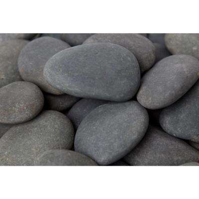0.4 cu. ft. 3 in. to 5 in. 30 lbs. Mexican Beach Pebbles (64-Pack Pallet)