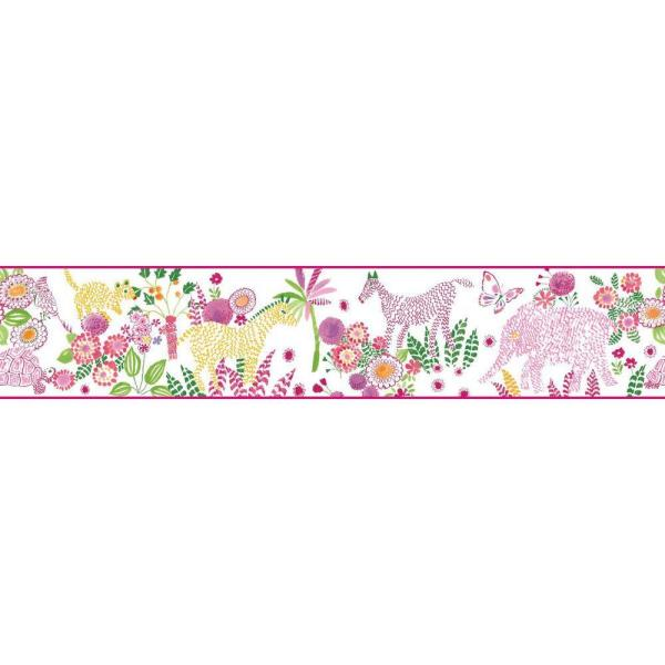 York Wallcoverings Waverly Kids Day Dream Wallpaper Border WK6881BD