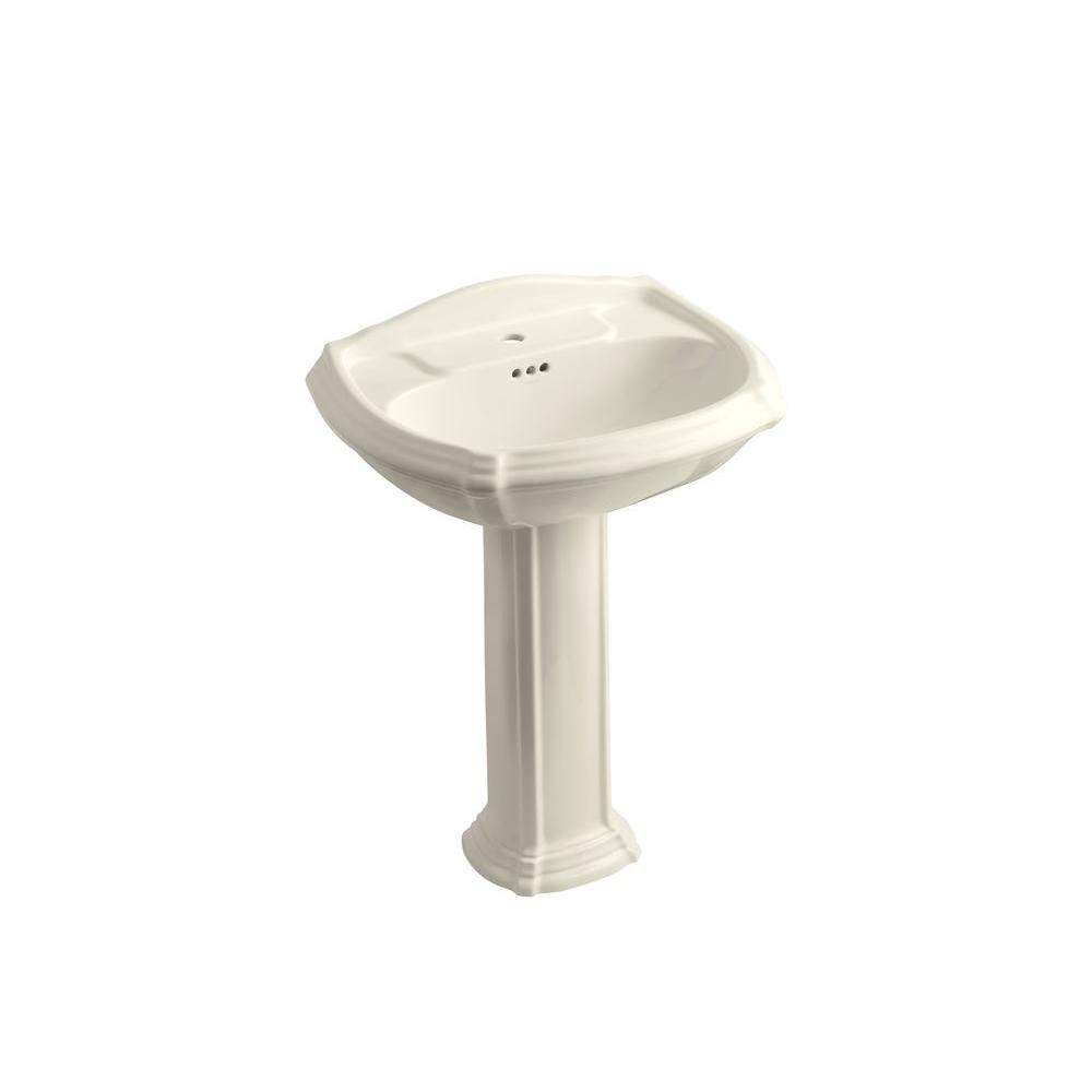 home depot bathroom sink drain kohler portrait vitreous china pedestal combo bathroom 23348