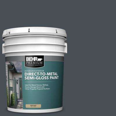 5 gal. #PPU25-22 Chimney Semi-Gloss Direct to Metal Interior/Exterior Paint