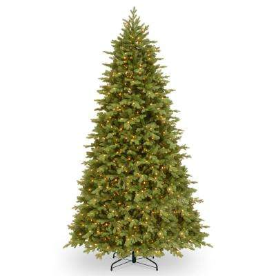 9 ft. Feel Real Princeton Fraser Fir Hinged Tree with 1000 Dual Color LED Lights and PowerConnect
