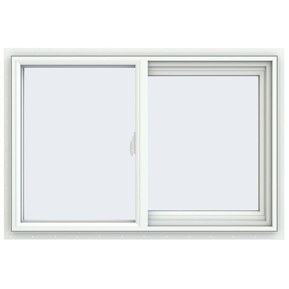 Jeld wen 35 5 in x 23 5 in v 2500 series right hand for Right window