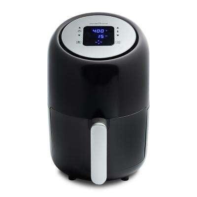 1.7 Qt. Compact Digital Air Fryer with 8-Cooking Presets and Color Recipe Book