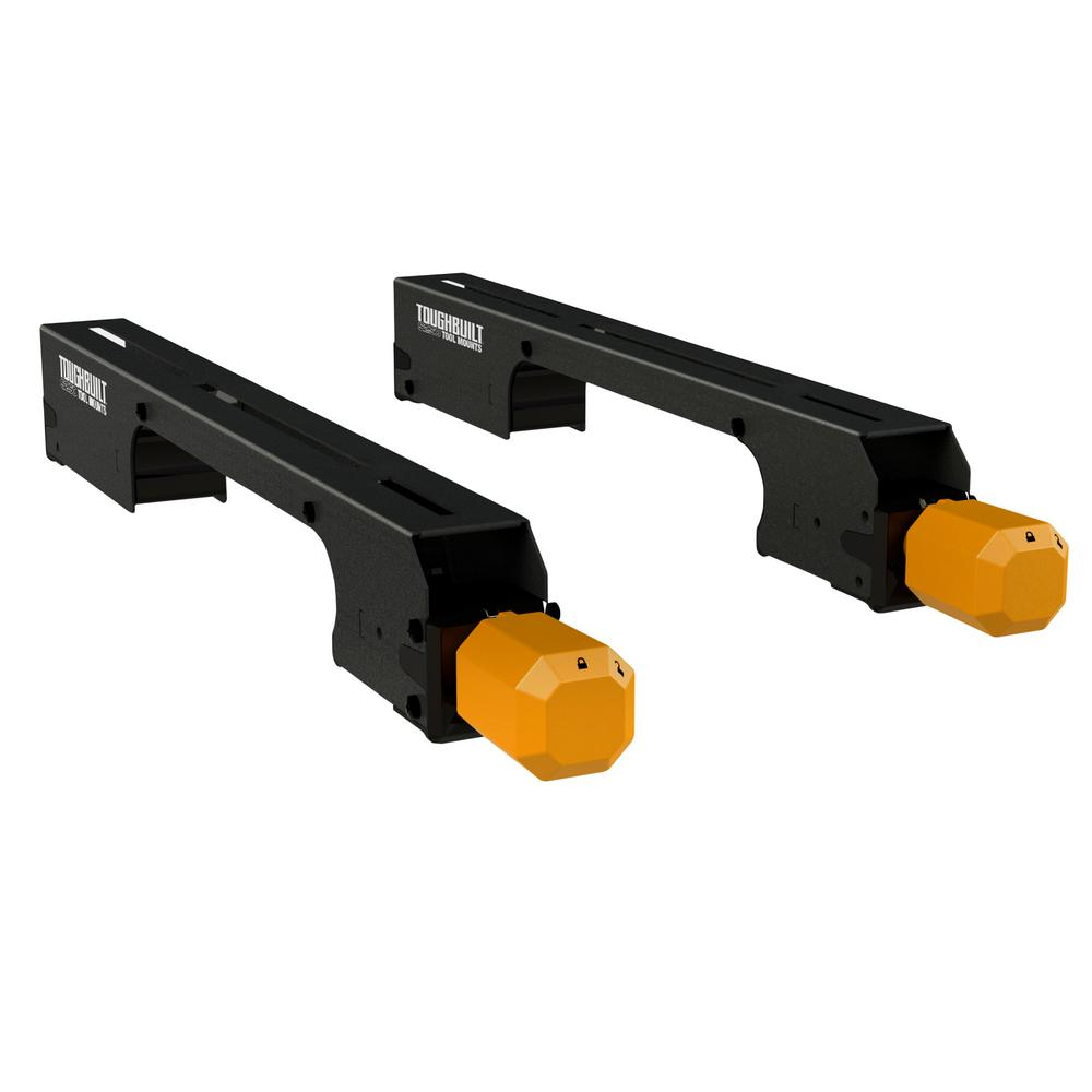 TOUGHBUILT Universal Miter Saw Tool Mounting Brackets