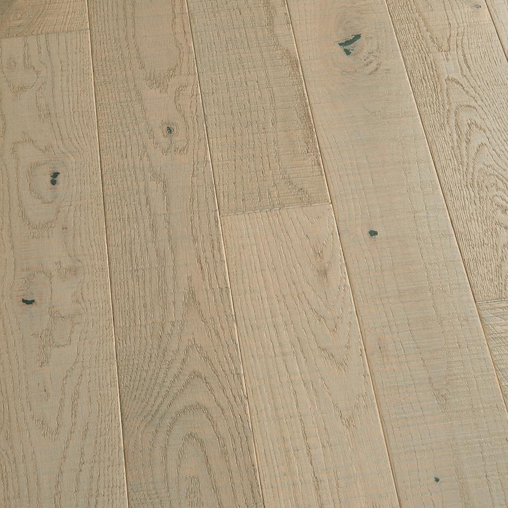 Malibu Wide Plank French Oak Pebble Beach 3/4 in. Thick x 5 in. Wide x Varying Length Solid Hardwood Flooring (22.60 sq. ft. /case)