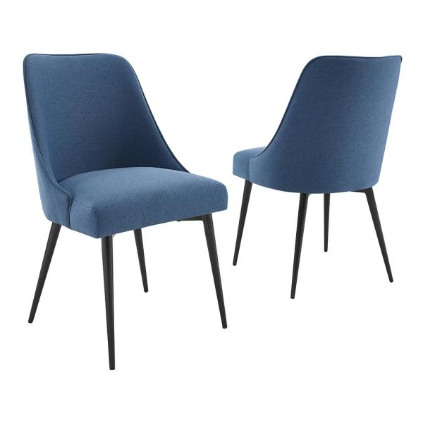 Steve Silver Colfax Blue Side Chair (Set of 2)