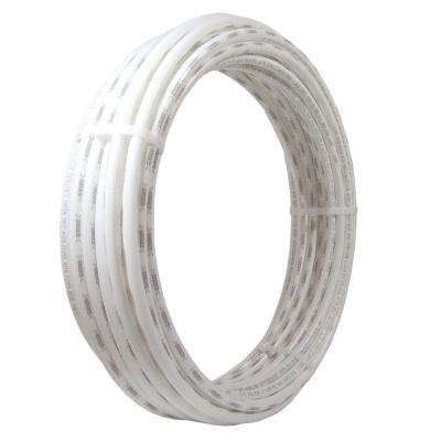 1 in. x 100 ft. White PEX Pipe