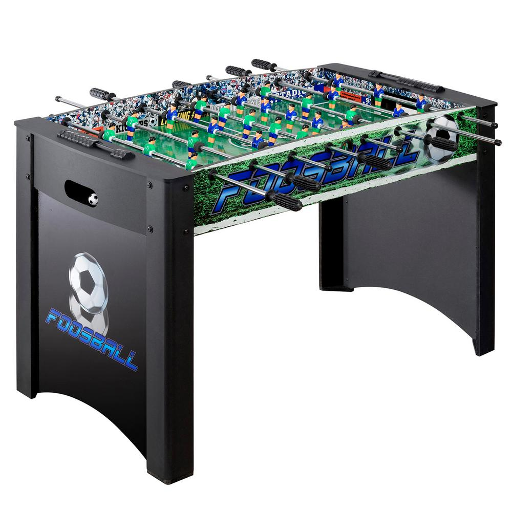 Playoff 4 ft. Foosball Table, Soccer Game for Kids and Adults