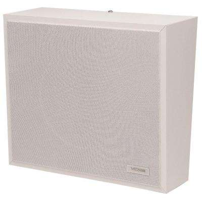 1-Way Wall Speaker - White