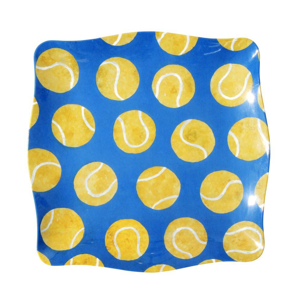 """""""Love"""" Tennis Melamine Platter"""