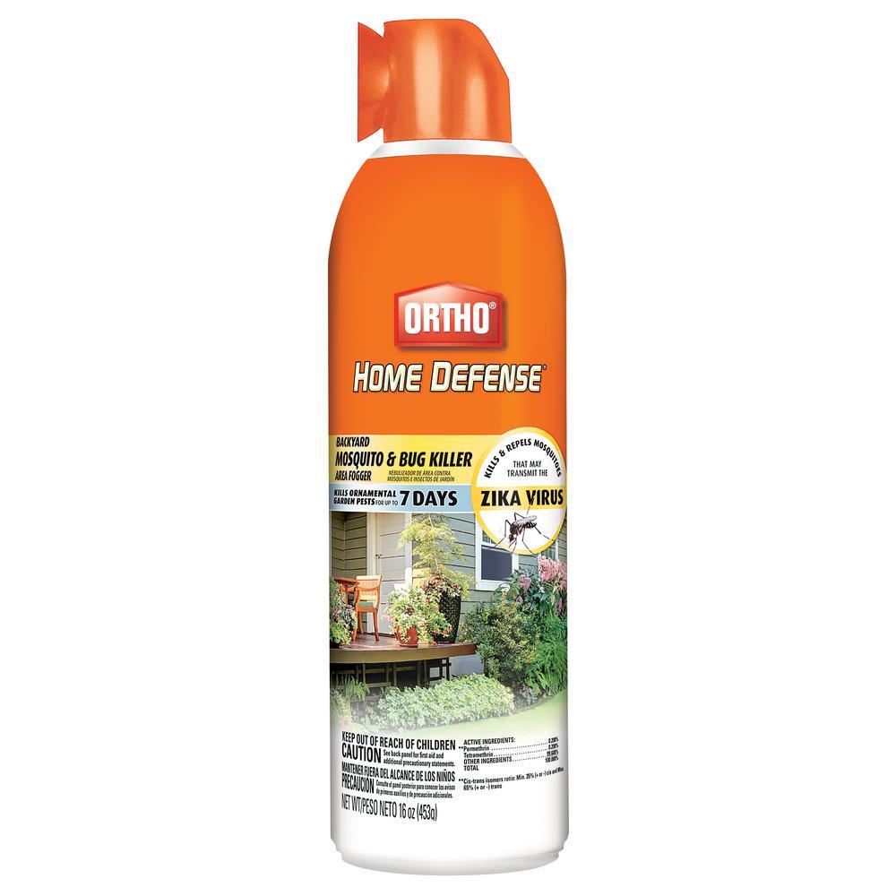 Ortho 16 Oz Home Defense Backyard Mosquito Killer Fogger 043800605