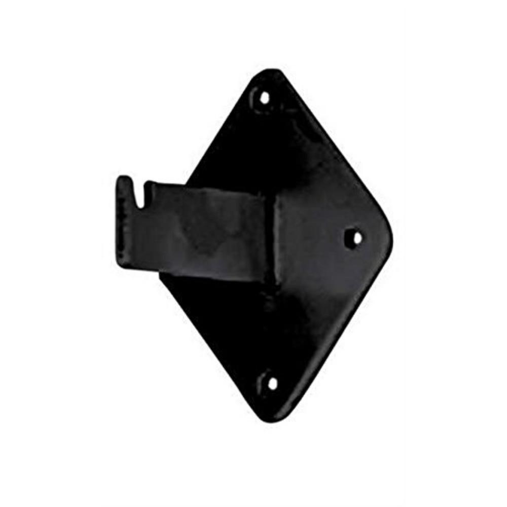 Shelf Bracket #1905B (25PCS) Retails Black Wall Mount Bracket for Grid Display