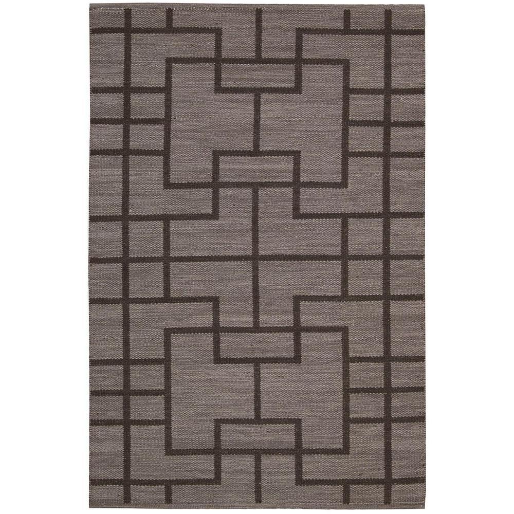 Maze Slate 5 ft. x 7 ft. Area Rug