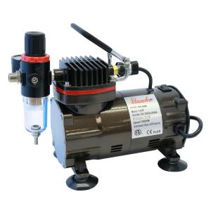 1/5 Hp Black Compressor With Regulator And Auto Shutoff