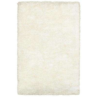 Serenity White 5 ft. x 8 ft. Indoor Area Rug