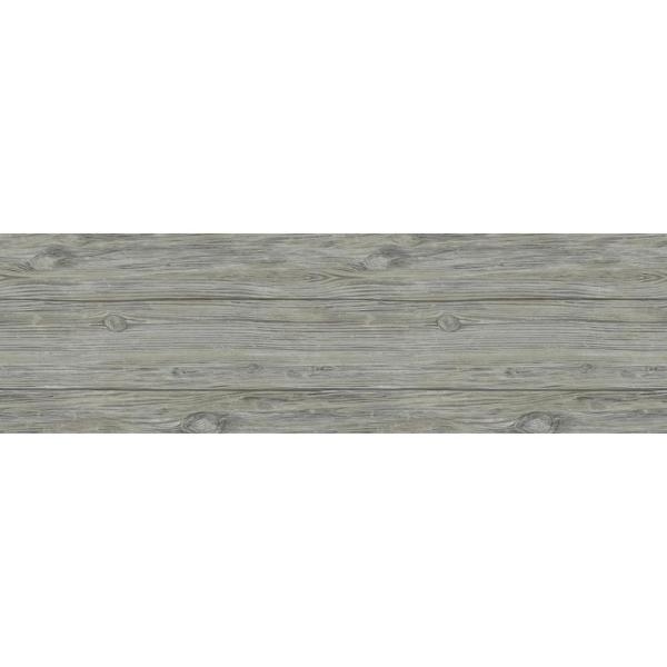 Magnolia Home by Joanna Gaines 1/4 in. x 5.1 in. x Varying Lengths Slate Grey HDF White Oak Shiplap Wall Plank (20.3 sq. ft./Carton)