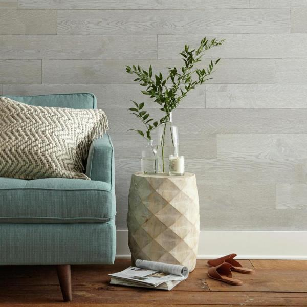 Magnolia Home By Joanna Gaines 1 4 In X 5 1 In X Varying Lengths Slate Grey Hdf White Oak Shiplap Wall Plank 20 Sq Ft Carton Mg1004plk The Home Depot,Front Door Easter Classroom Door Decorations