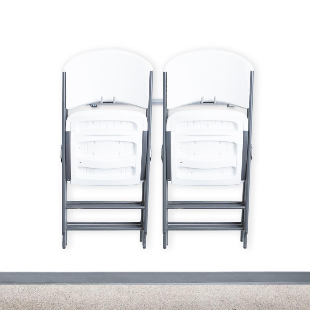 10-Folding Chair Rack
